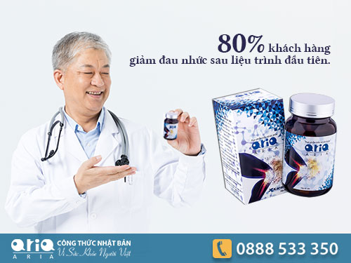 Xương khớp Aria Giải pháp cho người bệnh gút
